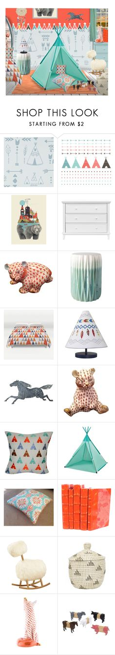 Children Vignette by craftygeminicreation on Polyvore featuring interior, interiors, interior design, home, home decor, interior decorating, NoJo, Surya, Olli Ella and Loom and Mill