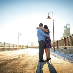 This was taken in the midst of winter though I don't think you can tell  I love the lighting and the bright feelings it gives me. #mncouples #onlyinMN #mnbride #engagements by mnfeistyphotog