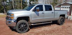 2015 Chevrolet Silverado 2500 HD Fuel Maverick D538 Nitto Trail Grappler 2015 Chevy Silverado 2500, Badass, Monster Trucks, Trail, Cars, American, Autos, Car, Automobile