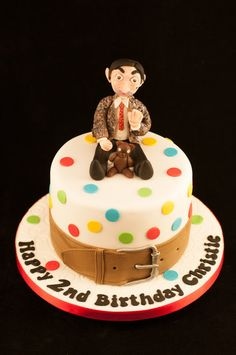 mr. bean cake Topper by Petra | Cakes & Cake Decorating ...