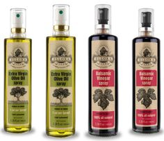 Ellora Farms  Extra Virgin Olive Oil and Balsamic Vinegar in Spray Bottles  100 Unfiltered and Traceable  Born in Ancient Crete Greece  338 oz Glass Spray Pack of 4 *** New and awesome product awaits you, Read it now : at Cooking Ingredients.