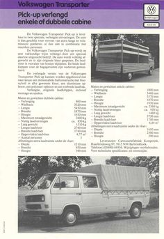 Extended pickup bed on a T3 Vanagon Doka by Kemperink of the Netherlands