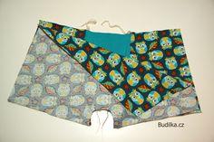 BoB: Boxerky od Budilky - Fotonávod - Budilka Boxer, Bags, Decor, Dressmaking, Handbags, Decoration, Decorating, Dime Bags, Dekorasyon