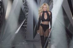 """The pop princess Britney Spears premiered a new song """"Private Show"""" from her new album """"Glory""""."""