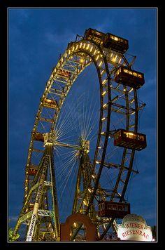 The Prater Ferris Wheel Vienna, Austria