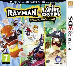 Rayman et les Lapins cretins - pack famille: Amazon.fr: Jeux vidéo