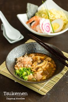 Tsukemen (Dipping Noodles) つけ麺 @JustOneCookbook (Nami)