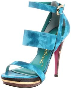 Click Image Above To Purchase: Sergio Zelcer Women's Water Platform Sandal