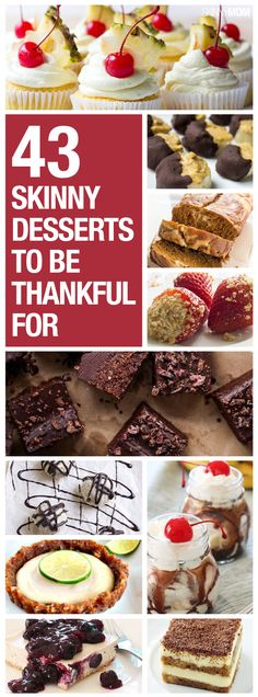 Desserts you'll love!