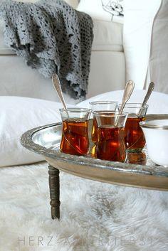 Tea time by herz-allerliebst, via Flickr