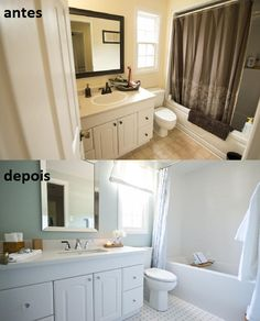 Banheiro  Property Brothers - Buying & Selling - Season 3 - Julie e Rob