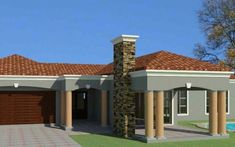 South African house plans for sale online. Buy contemporary 4 bedroom double storey, modern 5 bedroom floor plans, 3 bedroom house plans with photos. Four Bedroom House Plans, Tuscan House Plans, Mediterranean House Plans, House Plans For Sale, Free House Plans, Beach House Plans, Double Storey House Plans, House Plans South Africa, Affordable House Plans