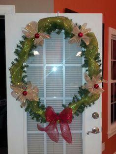 Cheap christmas wreath