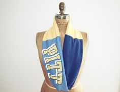 University of Pittsburgh T Shirt Infinity Scarf / PITT / by ohzie