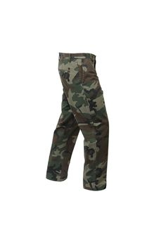 Deluxe 4-Pocket Woodland Camo Chinos Pant