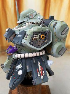 Geara Doga Bust Model by tsuyosith | Gundam Century
