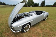 """Recreating a 190 SL exhibition car. Source: """"W121 Coupe and Roadster"""" - A 190 SL """"Touring Sports Car"""" by Bruce Adams, http://www.bruceadams190sl.com/html/book.php"""