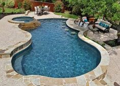 Having a pool sounds awesome especially if you are working with the best backyard pool landscaping ideas there is. How you design a proper backyard with a pool matters. Backyard Pool Landscaping, Backyard Pool Designs, Small Backyard Pools, Swimming Pools Backyard, Pool Spa, Swimming Pool Designs, Lap Pools, Indoor Pools, Small Pools