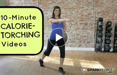 10-Minute Creative Core Workout Video | SparkPeople