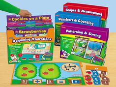 Early Math Folder Game Libraries - Pre-K-Gr. 1 - Complete Set at Lakeshore Learning