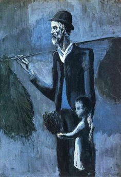 Pablo Picasso「Seller of gul」(1902)