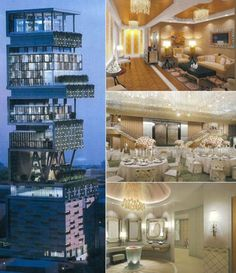 See Interior Photos Of The Most Expensive House In The World, Which Costs $1Billiion (N365B) Owned By A Indian Billionaire https://www.ipresstv.com/2017/12/see-interior-photos-of-most-expensive.html   #news #realestate