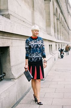 -Check out  modesttrends.com for more modest fashion! Vanessa Jackman: Paris Fashion Week AW 2012...Elisa