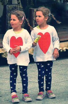 Federer 's twins, so cute!!!