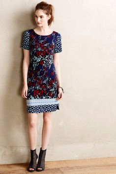 NWT Anthropologie Deveney Ponte Shift by Plenty by Tracy Reese 0, 4, 6 #Anthropologie #Shift