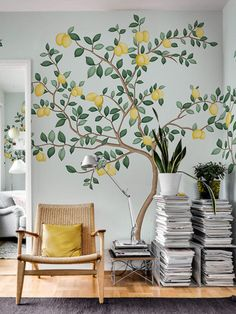 32 Best tree wall painting images in 2018 | Family tree mural, Wall