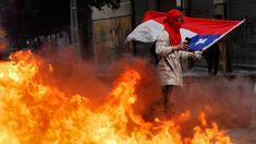 Guess who's stirring mass anti-government protests in Chile? That's right, it's the Russians, at least according to the US' chief diplomat for Latin America. Chile, Military Rule, Millions Of Dollars, Riot Police, The Eighth Day, Private Sector, Education System, Social Change