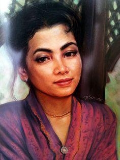 Beautiful Malay Woman from Malaysia