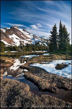 Mt. Jefferson Wilderness, central Oregon Cascade Range, Oregon