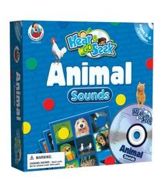 The Animal Sounds Board Game is a fun, easy way for young learners to develop important early literacy and listening skills. Fun to play at home or in the classroom!