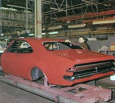 A MONARO GTS body on the body finishing production line Holden Monaro, Holden Australia, Car Facts, Aussie Muscle Cars, Holden Commodore, Australian Cars, Exotic Sports Cars, Performance Cars, General Motors