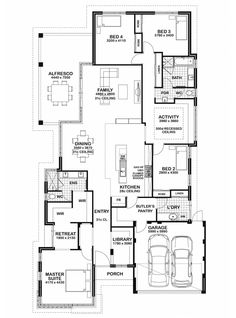Duo2 floor plan by mcdonald jones perfect for extended for House plans for extended family