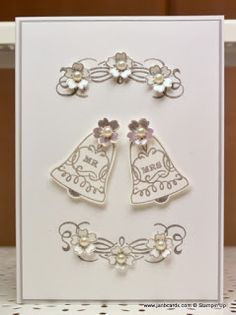 I used the Stampin' Up! Seasonal Bells and Bloomin' Love Stamp Sets to make this card.