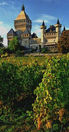 Vufflens Castle, Canton of Vaud, Switzerland