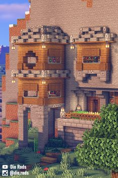 Simple Minecraft Houses, Minecraft House Plans, Minecraft Farm, Minecraft Cottage, Minecraft House Tutorials, Minecraft House Designs, Minecraft Survival, Minecraft Construction, Amazing Minecraft