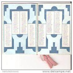 calendario carmen 1933