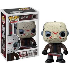 Friday the 13th Jason Voorhees Movie Pop! Vinyl Figure! Yes he has his lazy eye lol