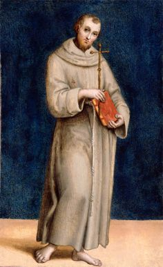 St François d'Assise, par Raffaello (1504-1505)