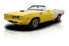 1971 Plymouth 'Cuda Yellow