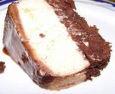Receita de bolo pudim