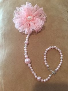 A personal favorite from my Etsy shop https://www.etsy.com/listing/252454693/pink-pearl-pacifier-clip