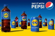 Class Commentary - I never realized how much companies have started going with the personal approach till class and seeing Coke Cola name bottle made me think of the trend starting. How Pepsi recently created the Pepsi emoji drinks to express your self through the emoticon on the product.