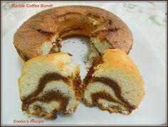 Marble Coffee Bundt#BundtBakers - Sneha's Recipe Chocolate Bundt Cake, Chocolate Coffee, Marble Cake, Vanilla Essence, Cake Flour, Tea Cakes, How To Make Cake, Baking Soda, Cooking