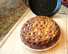 Loquat Upside-down Cake