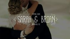 Sarah + Brian's Wedding Teaser #wedding #videography #video #film #cinematography #bride #bridal #groom #couple #engaged #married #brighton #michigan