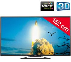 SHARP AQUOS LC-60LE651EMK2 - svart - LED-TV 3D Smart TV